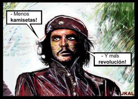 Menos camisetas, más revolución.
